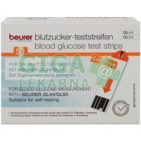 Testovací proužky na glukometry Beurer GL44-GL50 2x25ks