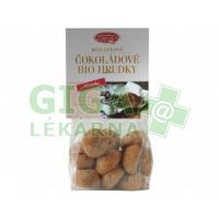 Bezlepkové čokoládové bio hrudky 100g