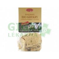 Špaldové bio krekry s dýňovým semínkem a česnekem 100g