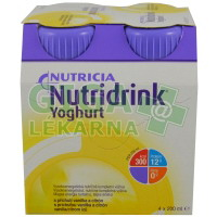 Nutridrink Yoghurt 4x200ml Vanilka a Citron
