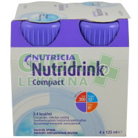 Nutridrink Compact 4x125ml Neutral