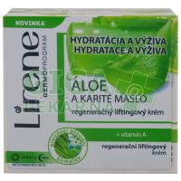 Lirene  krém s Aloe a Karité máslem D a N 50ml