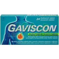 Gaviscon 24 žvýkacích tablet