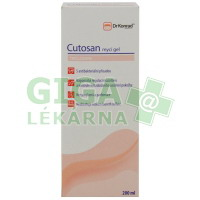 DrKonrad Cutosan mycí gel 200ml