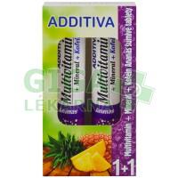 Additiva duopack 1+1 ananas 20+20 šum.tbl.