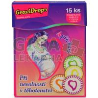 GraviDrops, při těhotenské nevolnosti - 15ks
