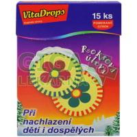 VitaDrops - roksová úleva při nachlazení - 15ks