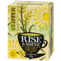 čaj Clipper RiseShine Cesmína citr.tr.Lem. 20n.s.