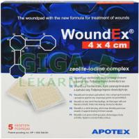 WoundEX 4x4cm 5ks