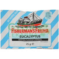 Fishermans friend bonbóny dia eukalyptové 25g modré