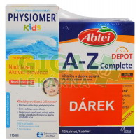 PHYSIOMER Pack Kids 115ml+ABTEI A-Z Complete 42tbl