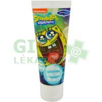 SpongeBob zubní pasta - jahodový gel 75ml