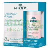 NUXE Creme Fraiche Enrichie 50ml +Micel.voda 100ml