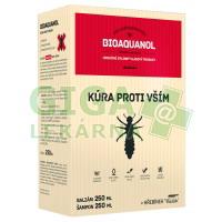 Bioaquanol Kúra - vši Šamp.250ml+Balz.250ml+hřeben