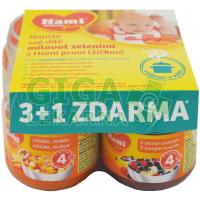 HAMI příkrm 3+1 2xjablko mrkev +2xlesní ovoce 125g
