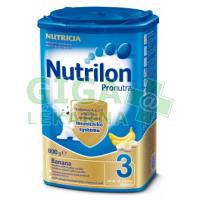 Nutrilon 3 Pronutra Banán 800g