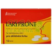 Larypront se šalvějí 12 tablet