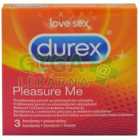 Prezervativ Durex Pleasure Me 3ks