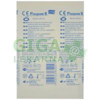 Fixopore S ovál 6.5x9.5cm á 1ks sterilní náplast