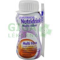 Nutridrink Multi Fibre 200ml Čokoláda
