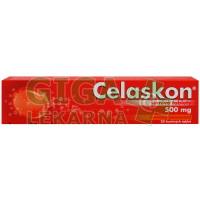 Celaskon 500mg Červený pomeranč 20 šumivých tablet Zentiva