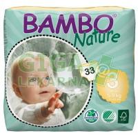 BAMBO Nature Midi plenkové kalh. 5-9kg 33ks