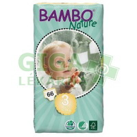 BAMBO Nature Midi plenkové kalh. 5-9kg 66ks