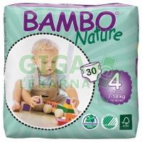 BAMBO Nature Maxi plenkové kalhotky 7-18kg 30ks