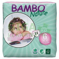 BAMBO Nature 6 XL plen.k. 16-30kg 22ks