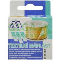 Náplast Mediplast 2.5cmx5m tkaná cívka
