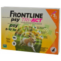 Frontline Tri-Act psi 5-10kg spot-on 3x1 pipeta