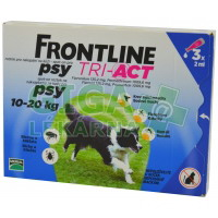 Frontline Tri-Act psi 10-20kg spot-on 3x1 pipeta