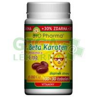 Beta Karoten 10 000 I.U.tob.100+30 Bio-Pharma