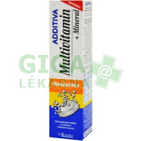 Additiva Multivitamin+Mineral Mandarin.20 šum.tbl.