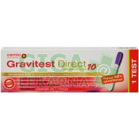 Cemio Gravitest DIRECT 10mlU/ml 1test ČR/SK