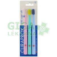 Curaprox CS 3960 Supersoft zubní kartáčky 3ks
