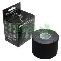 KineMAX Classic kinesiology tape černá 5cmx5m