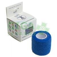 KineMAX Cohesive elast.samofix. 5cmx4.5m modré