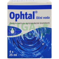 Ophtal oph.aqa 4x25ml plast