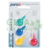 PARO 3Star-Grip mezizubní kartáčky 4ks-4velikosti set