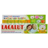 Lacalut dětská zubní pasta 4-8 let + krytka na kartáček