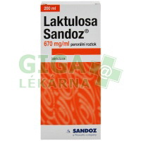 Laktulosa Sandoz 200ml