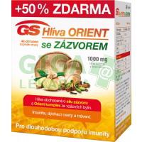 GS Hlíva Orient se zázvorem 40+20 tablet