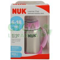 NUK FC Láhev učení nerez drž.125ml SI pít.10255247