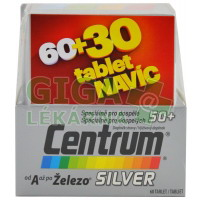 Centrum SILVER tbl 60+30 tablet