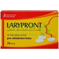 Larypront se šalvějí 24 tablet