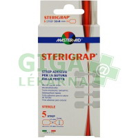 Náplasti Master Aid Sterigrap sterilní 32x8mm 5ks