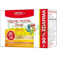 Cemio Vápník+Hořčík+Zinek+D3+K1 100+30 tablet