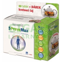 5PreveMax Imunit tbl.60 + dárek kvetoucí čaj