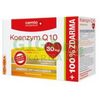Cemio Koenzym Q10 30mg s biotinem30+30 kapslí
